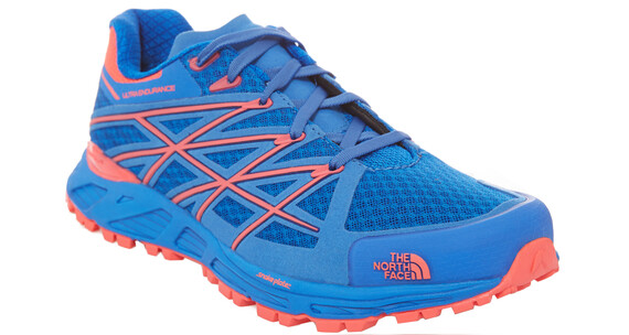 The North Face Ultra Endurance Hardloopschoenen Dames rood/blauw